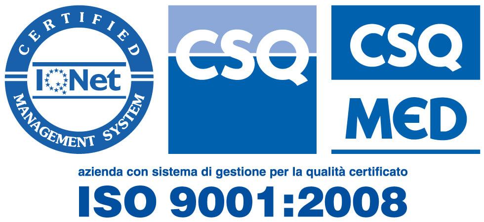 CERTIFICAZIONE ISO 9001:2008 MONTEFARMACO