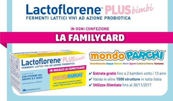 Lactoflorene-Plus-Concorso-Family-Card-Mondo-Parchi-MontefarmacoMONDO PARCHI