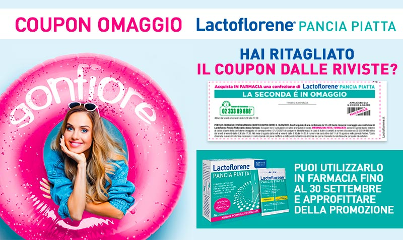 Promo Lactoflorene Pancia Piatta